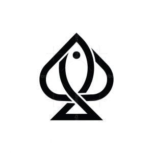 Poker Fish Logo