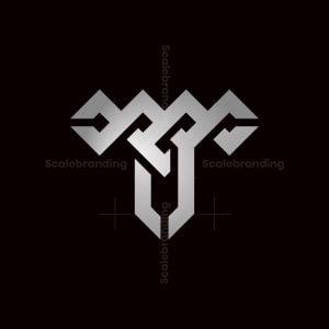 Letter T Nordic Logo