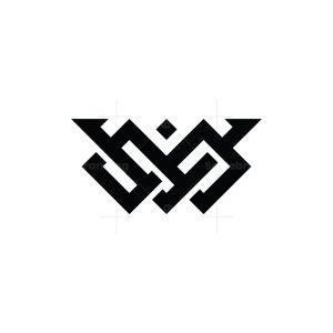 Letter V Infinity Logo