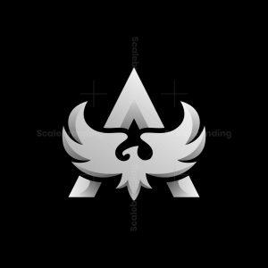 Letter A Phoenix Logo