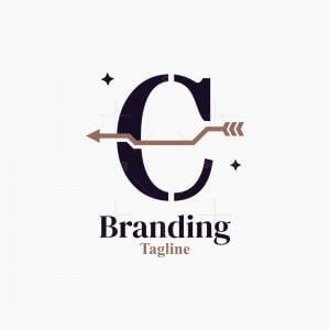 Letter C Or E Stylish Logo