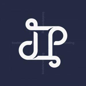 Letter Dp Monogram Logo