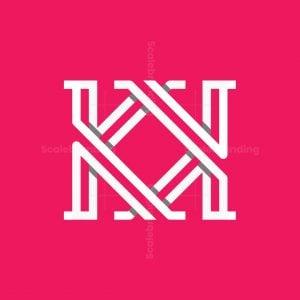 Modern Kk Or Km Logo