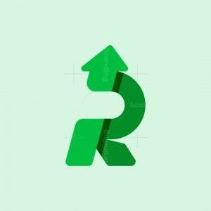 Letter R Financial Logo