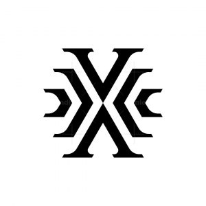 Letter X Or Xx Monogram Logo
