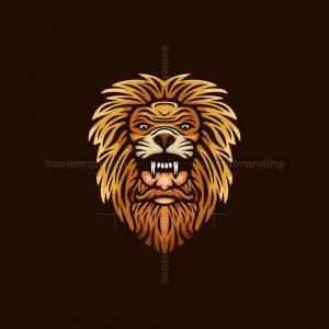 Gentleman Lion Logo