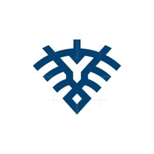 Y Signal Lion Logo