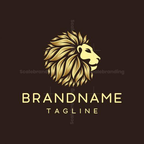 Lion Nature Logo