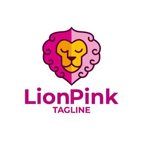 Lion Pink Logo