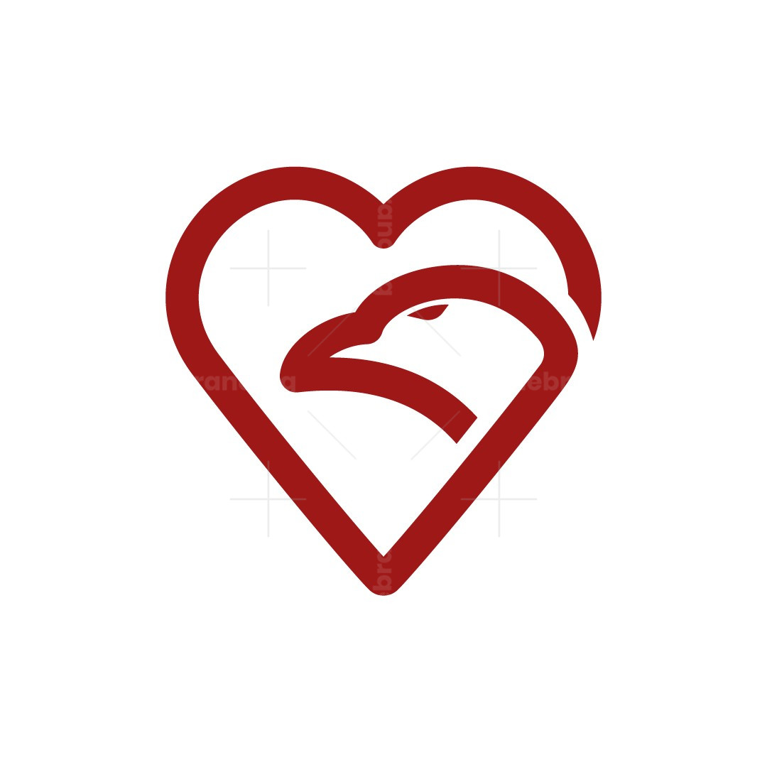 Love Eagle Logo