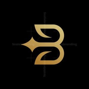 Luxury B Spark Logo