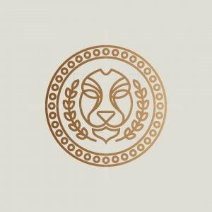 Monoline Lion Logo