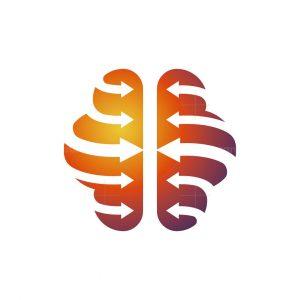 Brain Arrows Logo