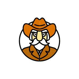 Old Cowboy Logo