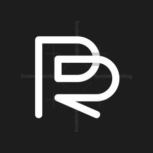 Letter Pr Or Rp Logo
