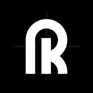 Initial Logo R Or K
