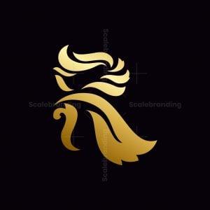 R Letter Gold Logo