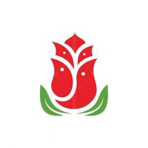 Rose Bird Family Logo