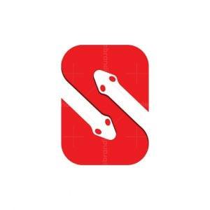 S For Snake Logo