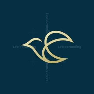 Monoline Bird Logo