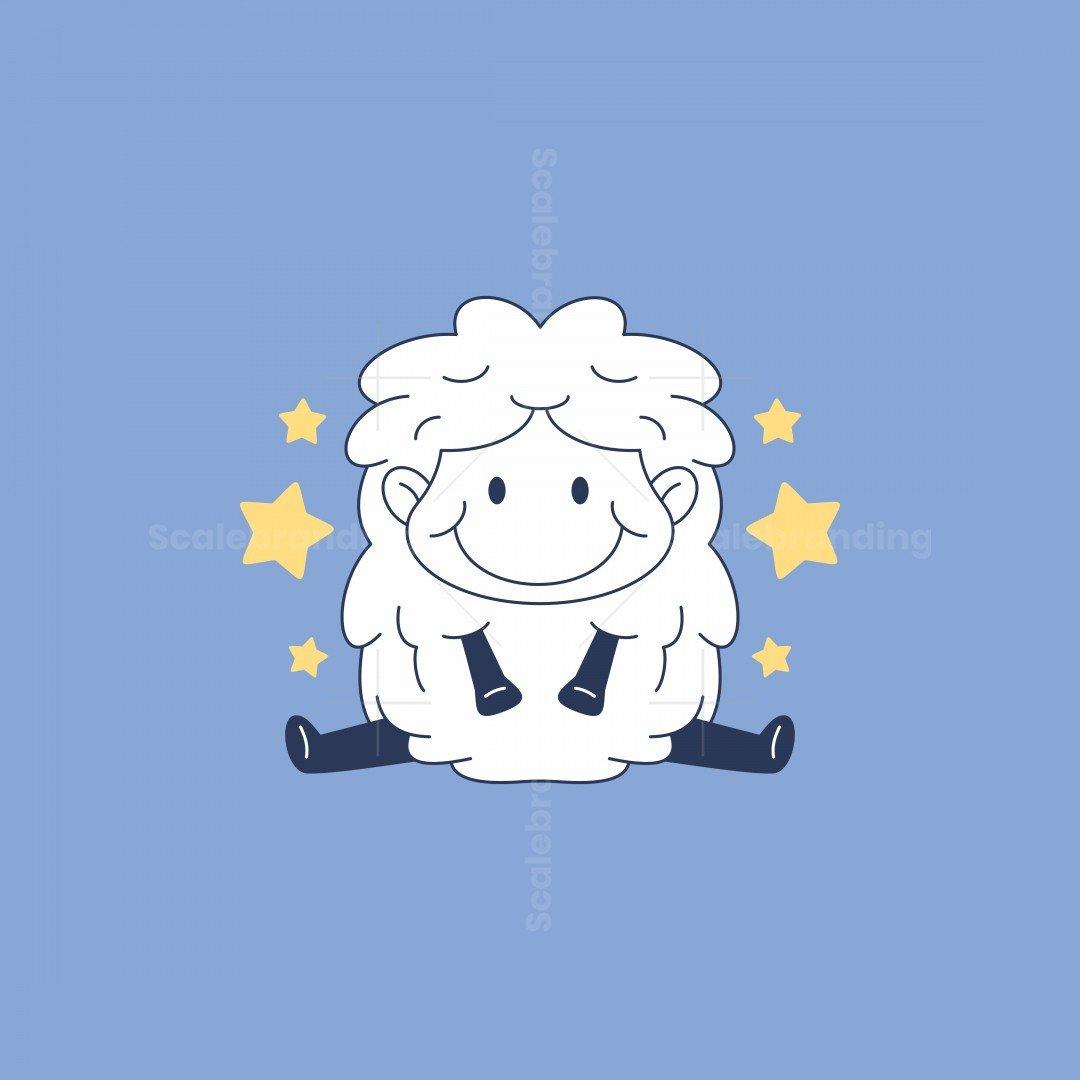 Sleeping Star Sheep Logo