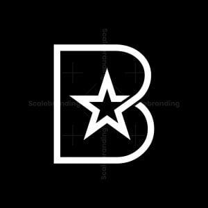 Star Letter B Logo