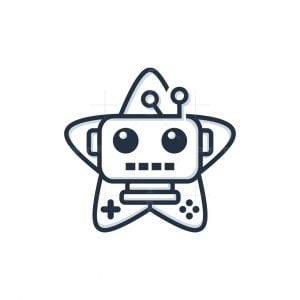 Star Game Robot Logo