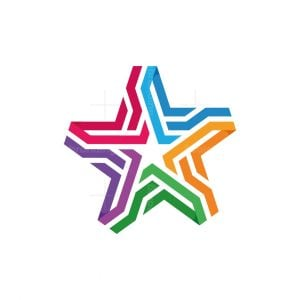 Star Connect Colorful Logo