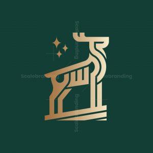 Stylish Deer Logo