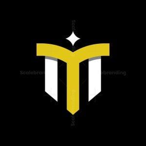 Letter Ym Or M Logo