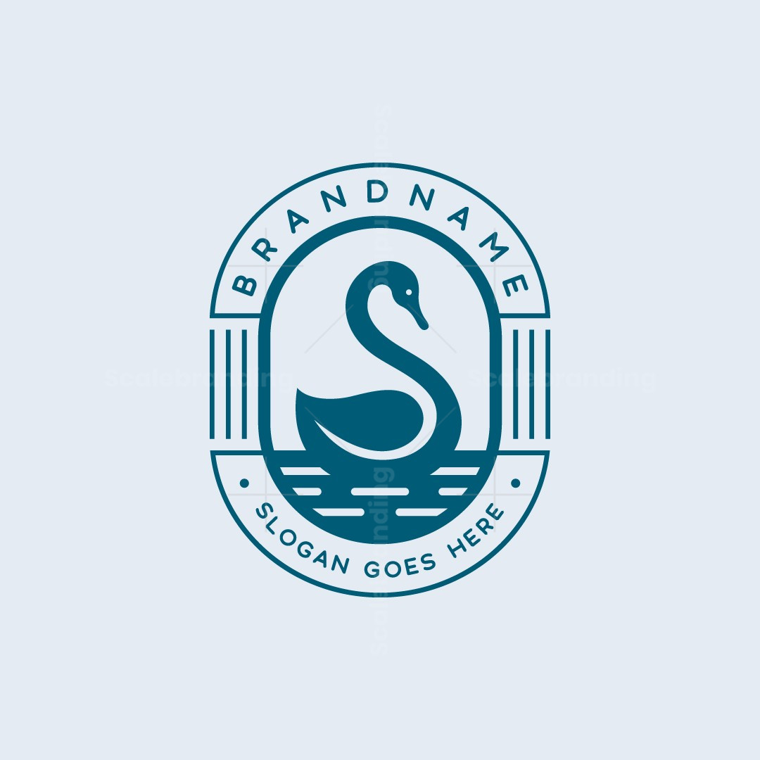 Swan On Water Logo