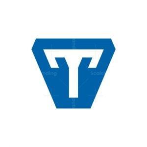 Technology Letter T Capstone Logo