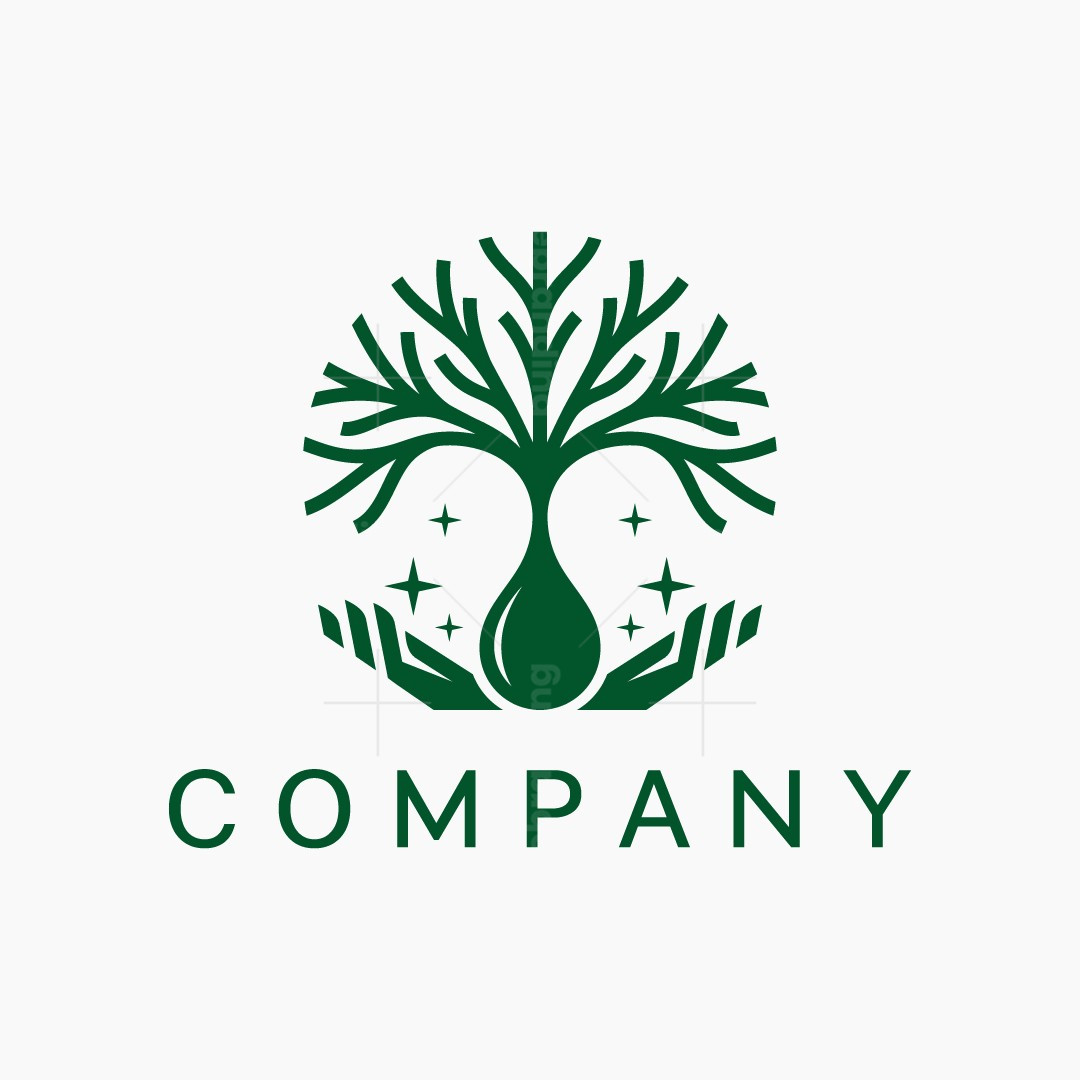 Tree With Hands Logo