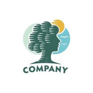 Woman Tree Logo