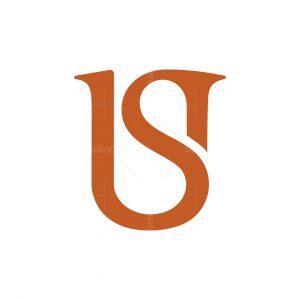 Letter Us Logo