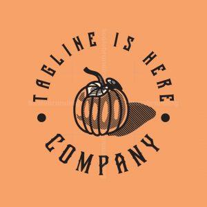 Vintage Pumpkin Logo