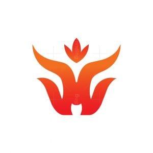 W Fire Bull Logo