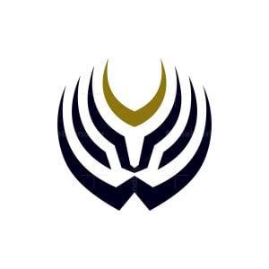 W Lion Bull Logo