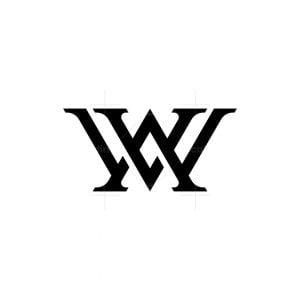 Wav Or Vaw Monogram Logo
