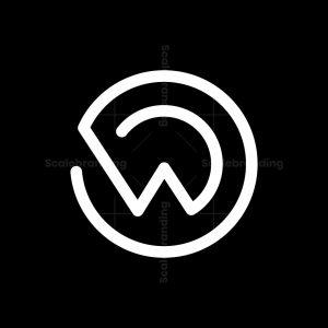 Wd Or Dw Monogram Logo