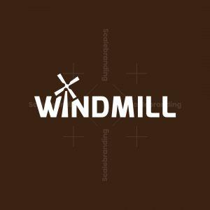 Modern Windmill Logotype