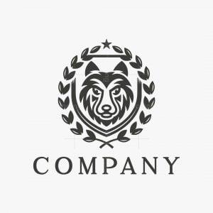 Wolf Badge Logo
