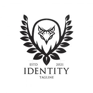 Wreath Eagle Logo