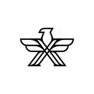X Eagle Logo