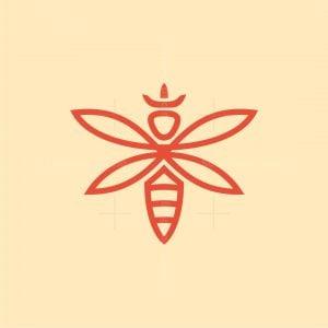 Bee Queen Logo