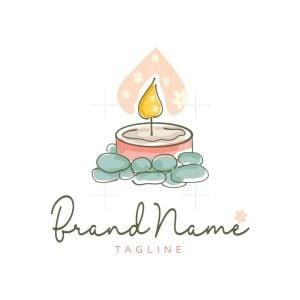 Fragrance Candle Logo