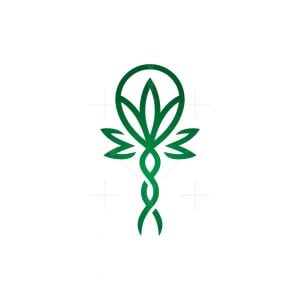 Caduceus Cannabis Logo