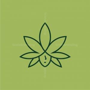 Cannabis Woman Logo
