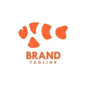 Abstract Clown Fish Logo
