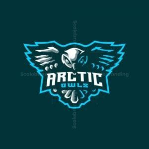 Arctic / Snowy Owl Esports Mascot Logo Design